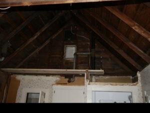 exposed ceiling