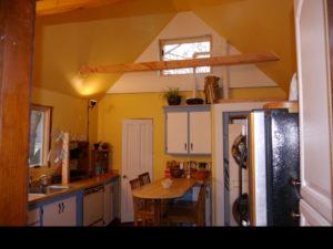 mostly finished kitchen
